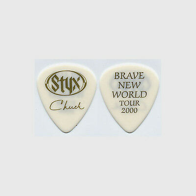 Styx Chuck Panozzo authentic 2000 tour Guitar Pick