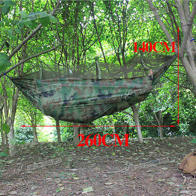Travel Camping Garden Home Hanging Sleeping Bed Hammock Tent With Mosquito Net