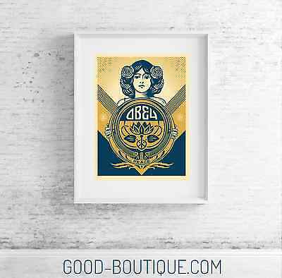 Shepard Fairey・Obey Giant・Holiday 2016 Print・Sig/Num/575・Print Not Peace Guard 2
