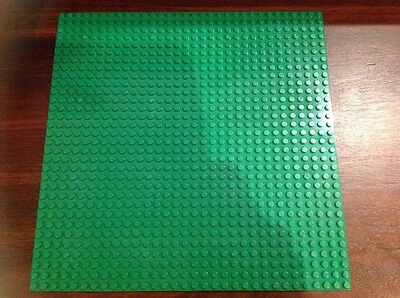 Building Board - Green Base Plate -32X32 Studs Baseplate Lego Compatible