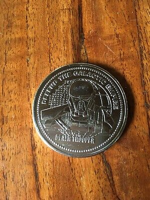 Star Wars Coin 2016 Rogue One Death Trooper Coin Medallion