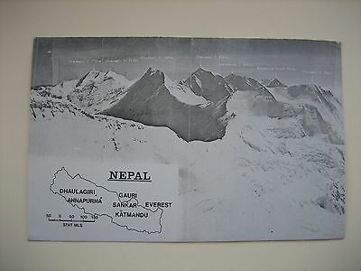 Himalayan Expedition Dhaulagiri IV. Nepal 1974 Postcards R.A.F. Team