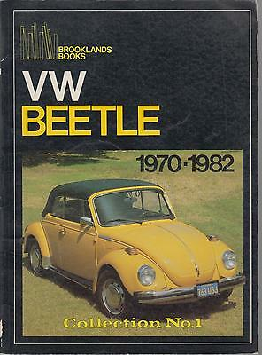Vw Beetle 1300 1500 1302 1303 Saloon Cabriolet 1970-1982 Period Road Tests Book