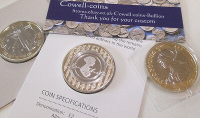 2017 ROYAL MINT BUnc £2 Coin Aviation,Jane Austen,Britannia  - Choose your coin