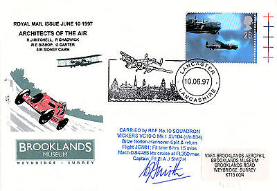 Brooklands Museum Cover-Architects Of Air-Carried In Vc 10-Signed-(Ltd To 12)