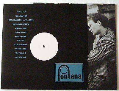 "HOUSE OF LOVE UK 1989 WHITE LABEL PROMO 12"" Single Never NEW"