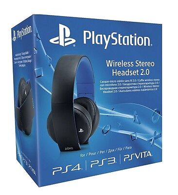 Playstation 4 - Micro-casque Stereo Sans Fil Pour Ps4 - NEUF