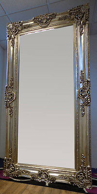 Full Length Champagne Silver Leaner / Wall Mirror 200x100cm