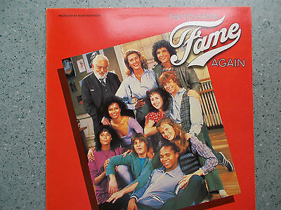 The Kids From Fame- Again Vinyl Record Released In 1982 RCA Records RCALP 6057