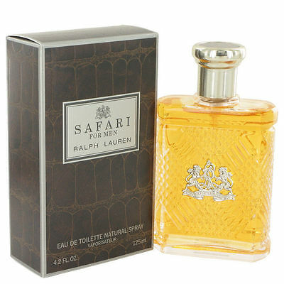 Genuine - RALPH LAUREN Safari Men EDT Spray - 4.2oz - Brand NEW & Sealed