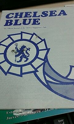 Chelsea Blue  official journal of the Chelsea supporters club 1976 April 1976