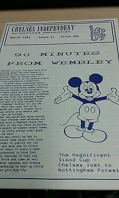Chelsea independent  issue11. March 1989