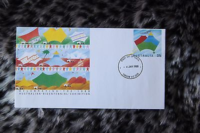 Australia, two first day covers ref 1198