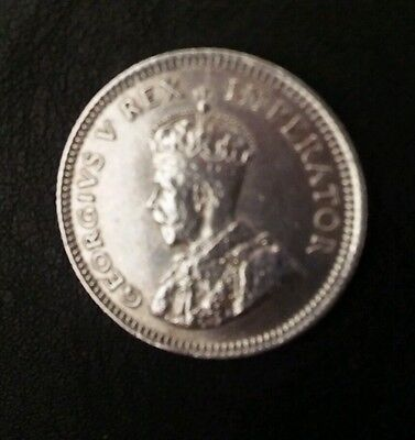 George V South Africa 6 pence