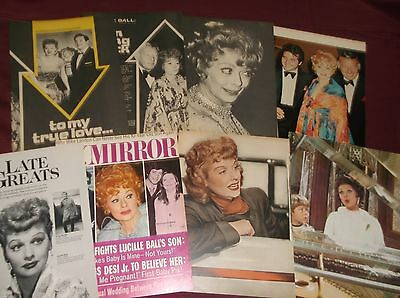 Lucille Ball - Clippings  (Lot A)