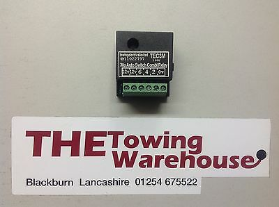TEC3M Electric Towbar Towing Wiring Kit Charging Switching relay fridge caravan