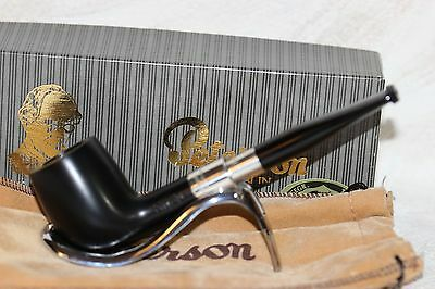 """Pfeife, Pipe, Pipa PETERSON Dublin """"STERLING SILVER"""" 15, Made in Rep. Ireland"""