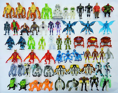 Ben 10 Action Figures 10cm-CHOICE of 220 Omniverse,Haywire,Ultimate,Alien LIST 3