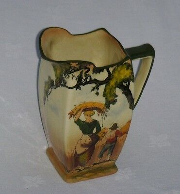 """ROYAL DOULTON SERIES WARE """"THE GLEANERS D3191"""" 1 Pint JUG ~ EXCELLENT"""