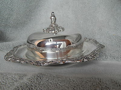 Butter server or Butter dish  and Cover  Wallace  Baroque   244