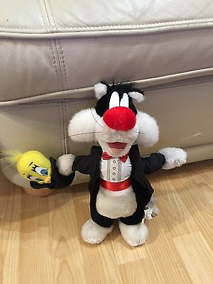 Looney Tunes Sylvester and Tweety Bird Teddy