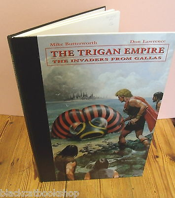 TRIGAN EMPIRE-INVADERS FROM GALLAS.LIMITED EDN 1st 2008.FANTASY/S F UK COMICS