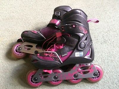 Oxelo Play 7 Junior inline roller blades size 1.5-4