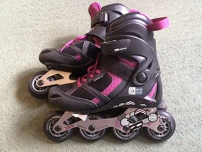 Oxelo Fit 5 Junior inline roller blades size 1.5-4