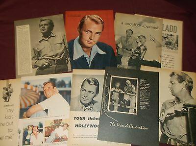 Alan Ladd - Clippings