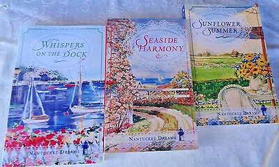 Nantucket Dreams Complete Trilogy Lot 3 Books Guideposts Whispers Sunflower Seas