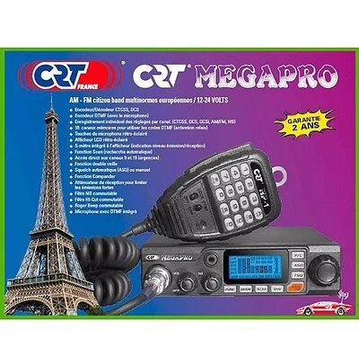 Cb Radio Crt Megapro 80 Channels 12 24V Car Truck Tractor Lorry Van