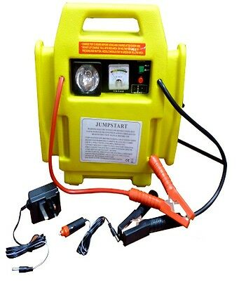 New Jump Start Battery Booster Air Compressor 12V Power Pack Car Engine Starter