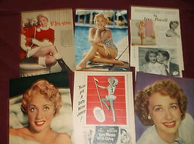Jane Powell - Clippings