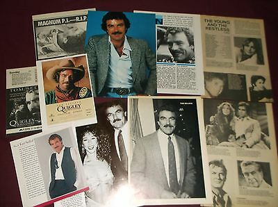 Tom Selleck - Clippings  (Lot A)