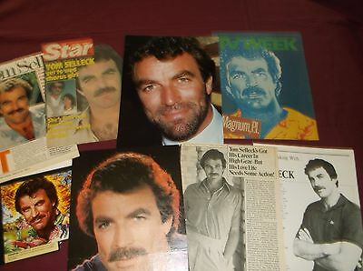 Tom Selleck - Clippings  (Lot B)