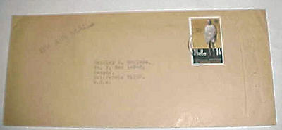 Malta Cover With Gandhi Stamp To Usa