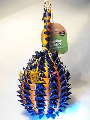 Parrot Toy Large Bird Toy Boredom Buster Chew And Shred Safe Natural Parrot Toy