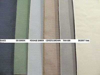 4 X 12 Inch Sew-On VELCRO® Hook and Loop Mil Spec