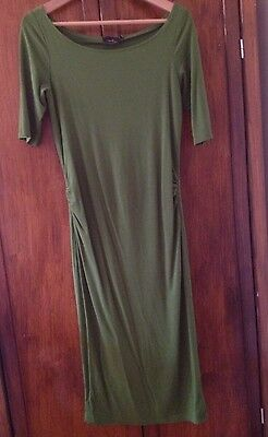 ASOS Maternity Dress, Green, Size 8