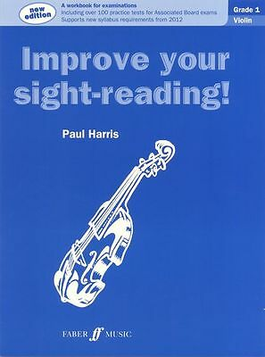Paul Harris: Improve Your Sight-Reading! Violin-.Grades 1, 2, 3, 4 & 5 Available