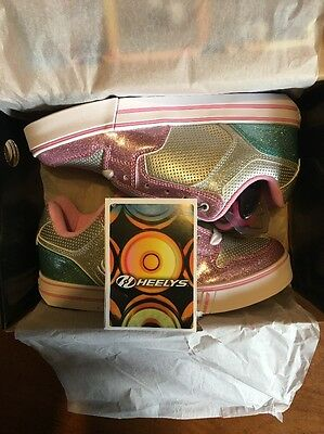 Girls Motion Plus Heelys (New) UK Size 5