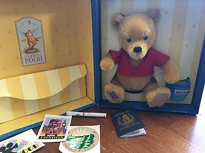 Disney Mohair Classic Winnie the Pooh Alpha-Farnell by Merrythought Ltd. Edition