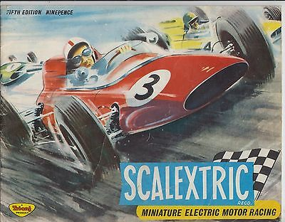 Scalextric Electric Slot Car Racing 5Th Ed ( 1964 ) Product Range Catalogue
