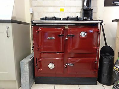 Rayburn Heatranger 355SFW Solid Fuel & Wood Burning Range Cooker With Boiler