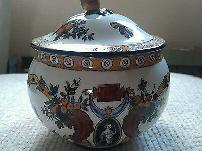 early french gien renaissance bowl
