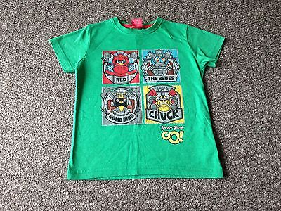 Boys Angry Birds T Shirt Age 5 Years From NEXT