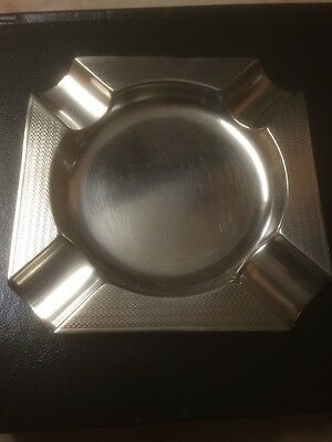 Solid Silver Ashtray