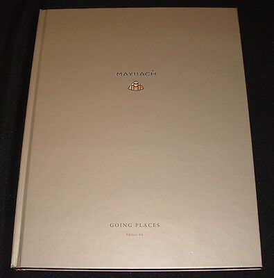 Maybach Going Places Book Ed II/2 Lifestyle Literature Sales Brochure