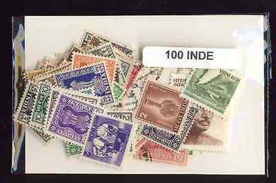Inde - India 100 timbres différents