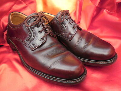 Bally Dark Brown Leather lace up Shoes Size 7 (uk) 40 (eu)